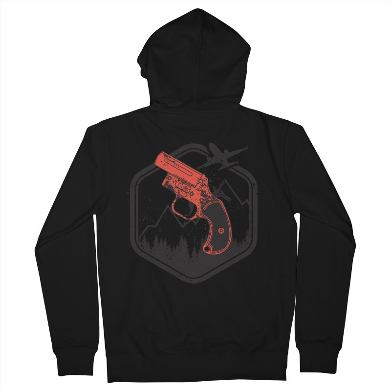 flare gun unknown Men's French Terry Zip-Up Hoody by hd's Artist Shop