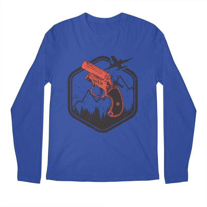 flare gun unknown Men's Regular Longsleeve T-Shirt by hd's Artist Shop