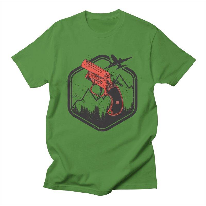 flare gun unknown Women's Regular Unisex T-Shirt by hd's Artist Shop
