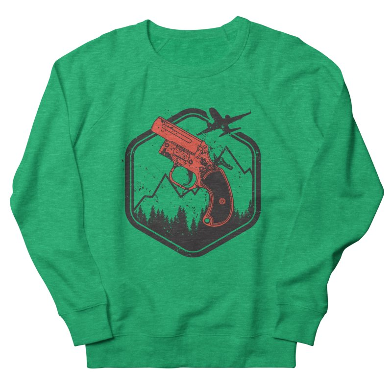 flare gun unknown Women's Sweatshirt by hd's Artist Shop