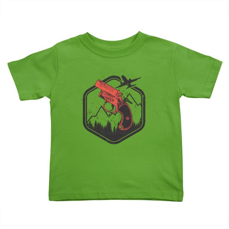 flare gun unknown Kids Toddler T-Shirt by hd's Artist Shop
