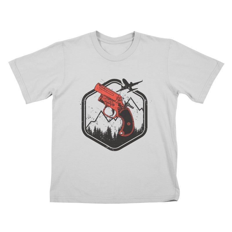 flare gun unknown Kids T-Shirt by hd's Artist Shop