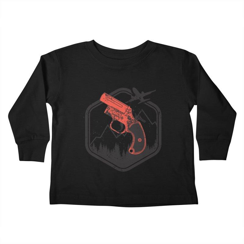 flare gun unknown Kids Toddler Longsleeve T-Shirt by hd's Artist Shop