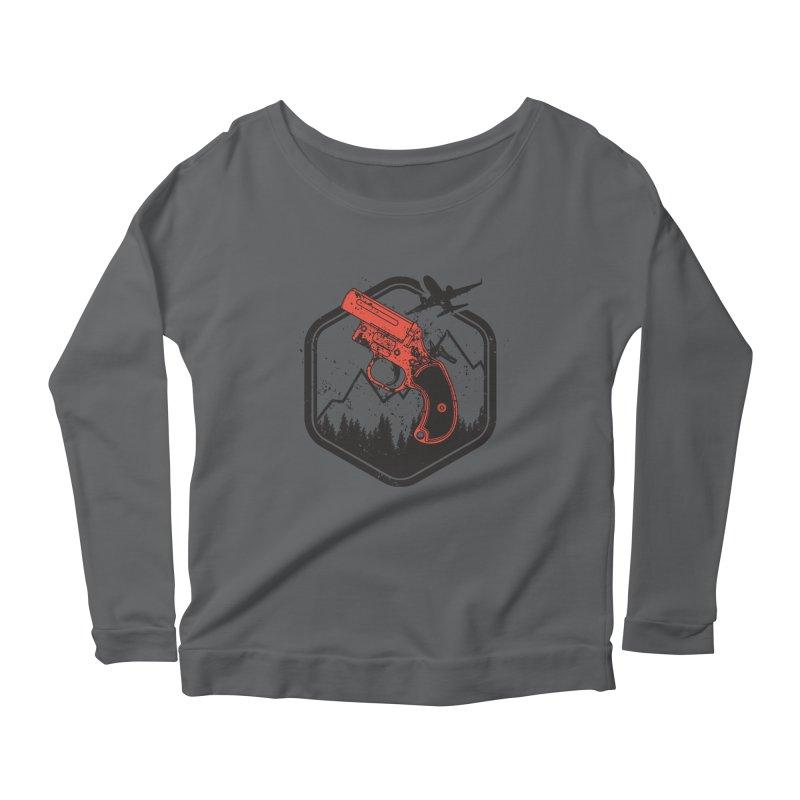 flare gun unknown Women's Longsleeve T-Shirt by hd's Artist Shop