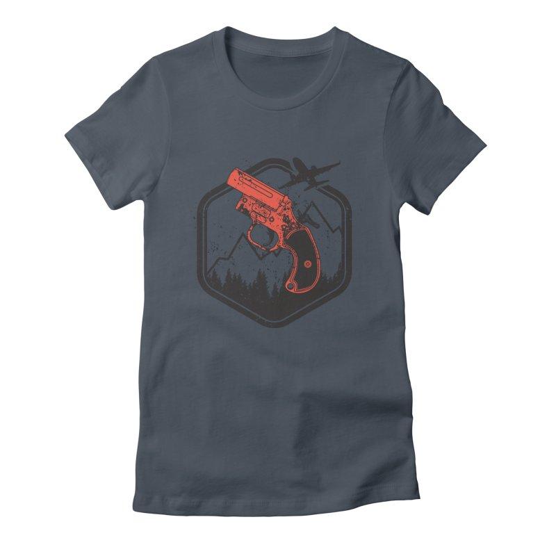 flare gun unknown Women's T-Shirt by hd's Artist Shop