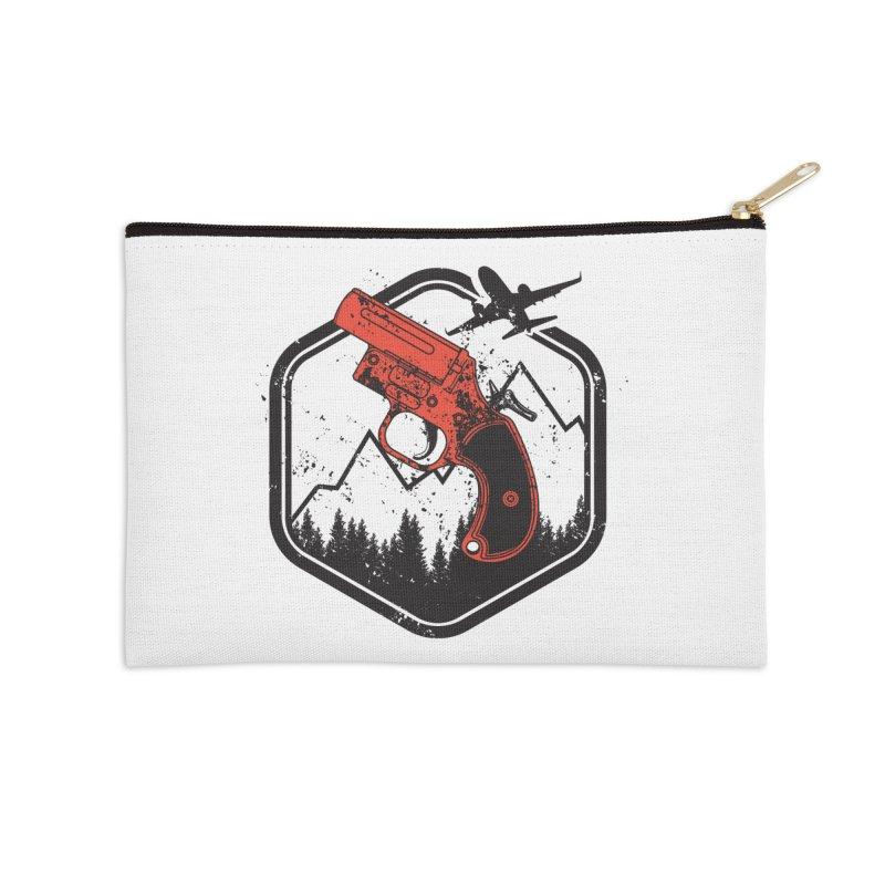 flare gun unknown Accessories Zip Pouch by hd's Artist Shop