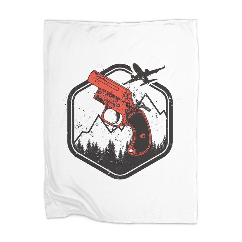 flare gun unknown Home Blanket by hd's Artist Shop
