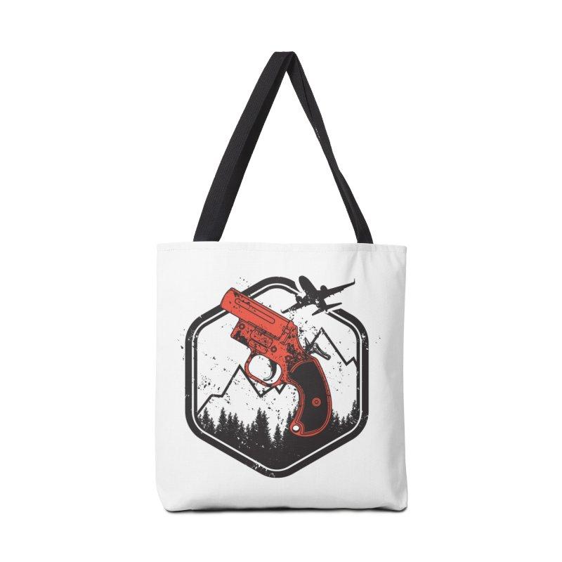 flare gun unknown Accessories Tote Bag Bag by hd's Artist Shop