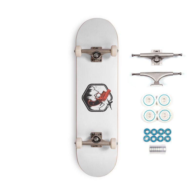 flare gun unknown Accessories Complete - Basic Skateboard by hd's Artist Shop
