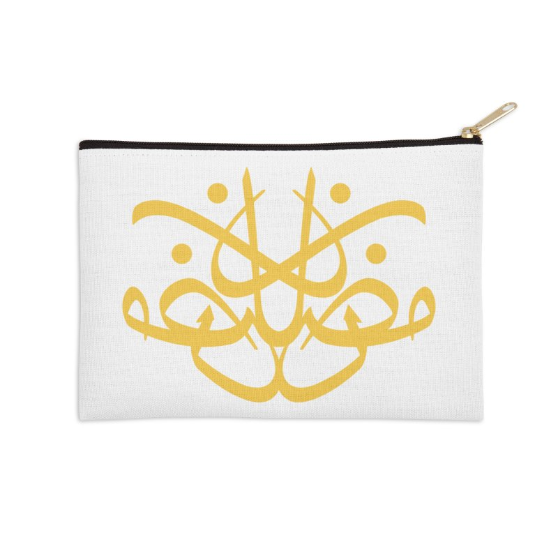ramadhan calligraphy simple Accessories Zip Pouch by hd's Artist Shop