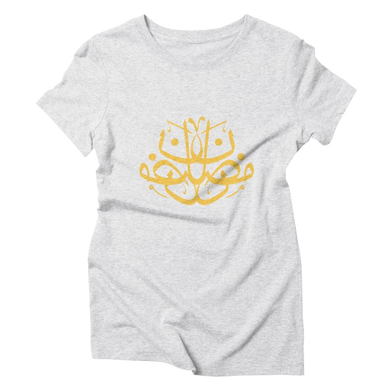 ramadhan with tashkil Women's T-Shirt by hd's Artist Shop