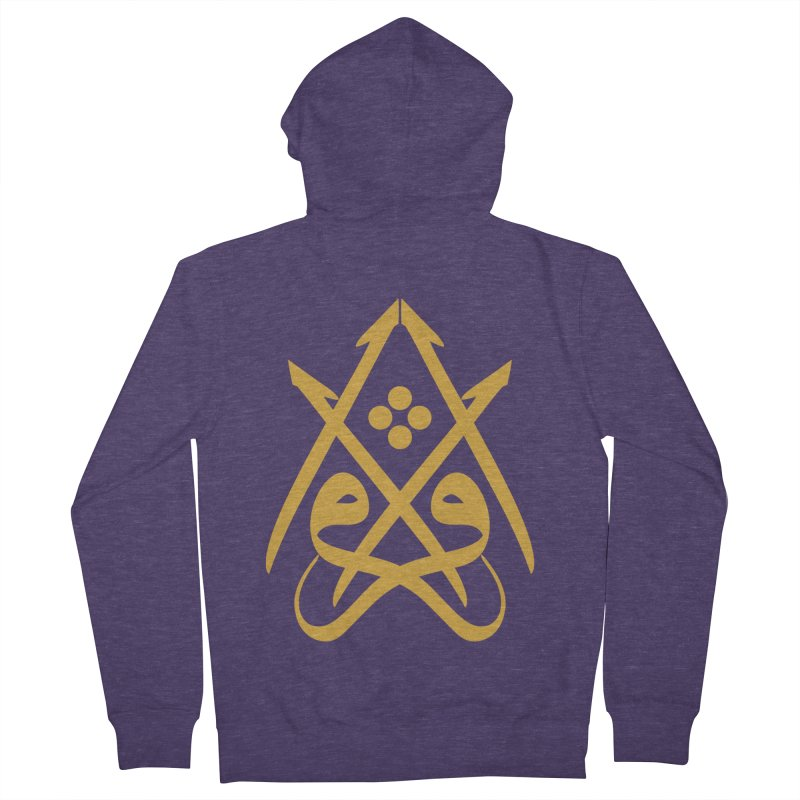 Read or Iqra Men's French Terry Zip-Up Hoody by hd's Artist Shop