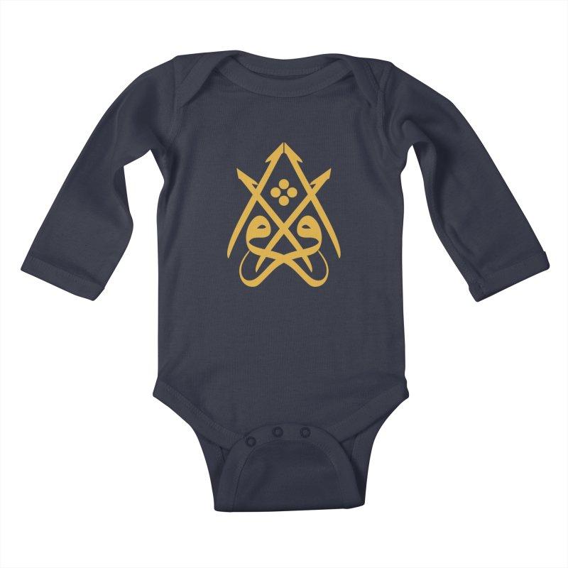 Read or Iqra Kids Baby Longsleeve Bodysuit by hd's Artist Shop