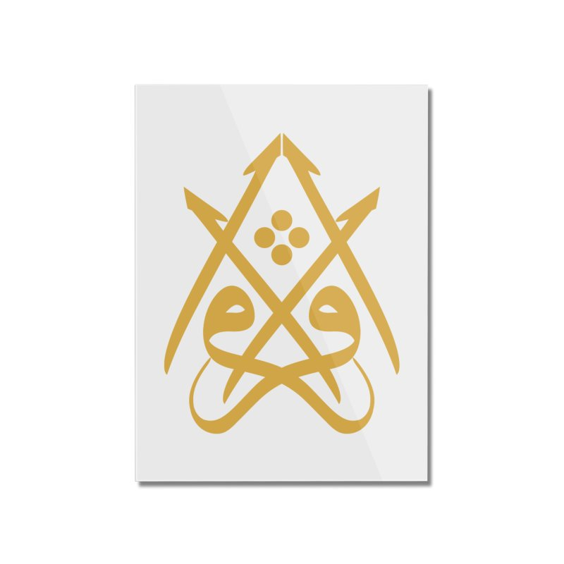 Read or Iqra Home Mounted Acrylic Print by hd's Artist Shop