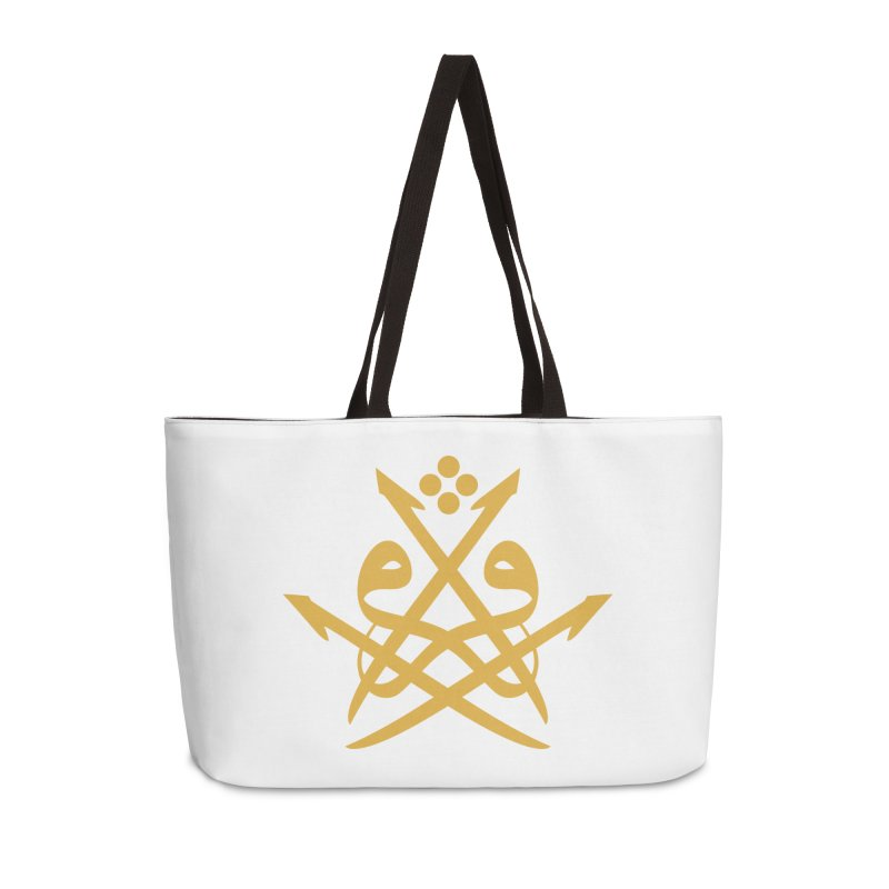 Read or Iqra Style 2 Accessories Bag by hd's Artist Shop