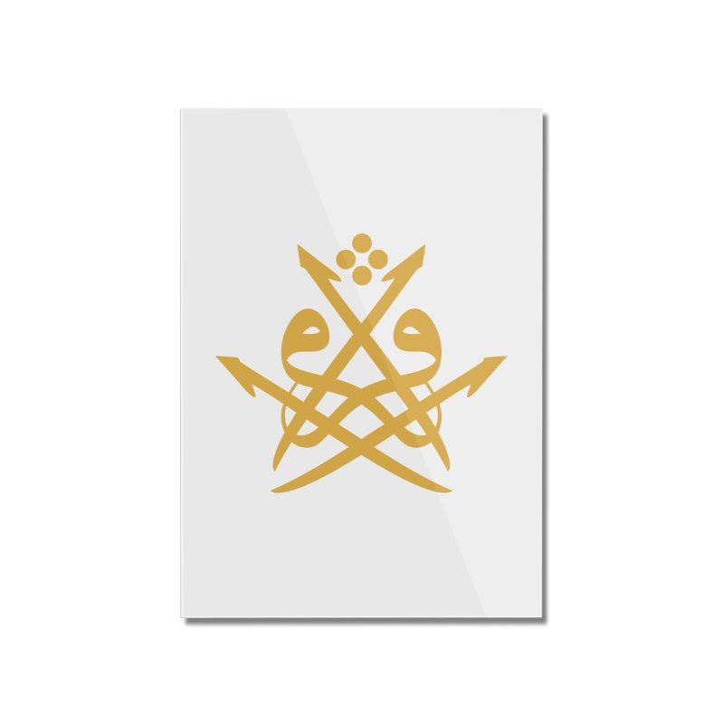 Read or Iqra Style 2 Home Mounted Acrylic Print by hd's Artist Shop