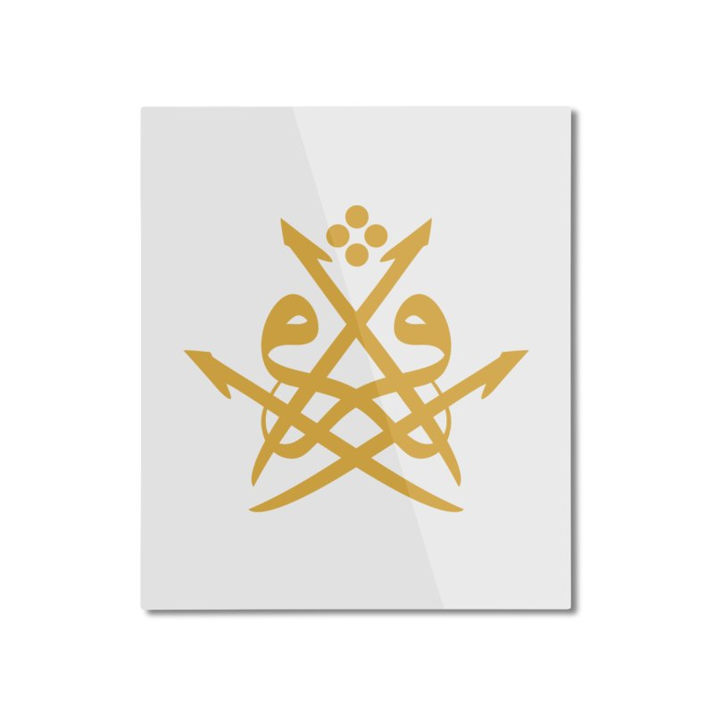 Read or Iqra Style 2 Home Mounted Aluminum Print by hd's Artist Shop