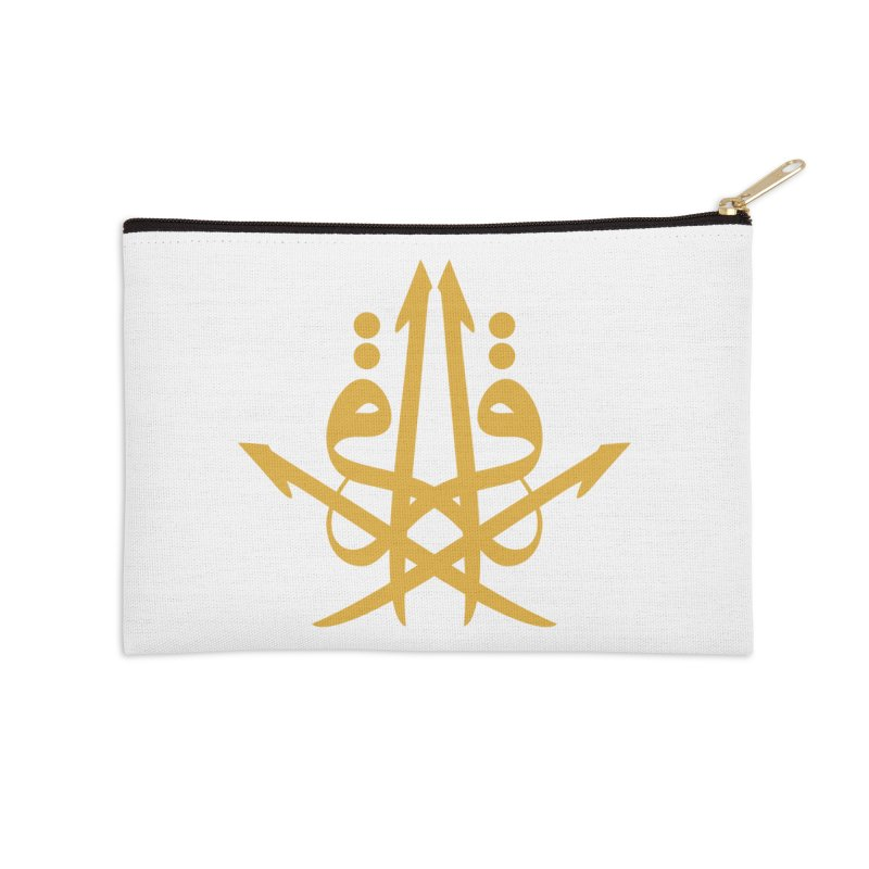 Read or Iqra style 3 Accessories Zip Pouch by hd's Artist Shop