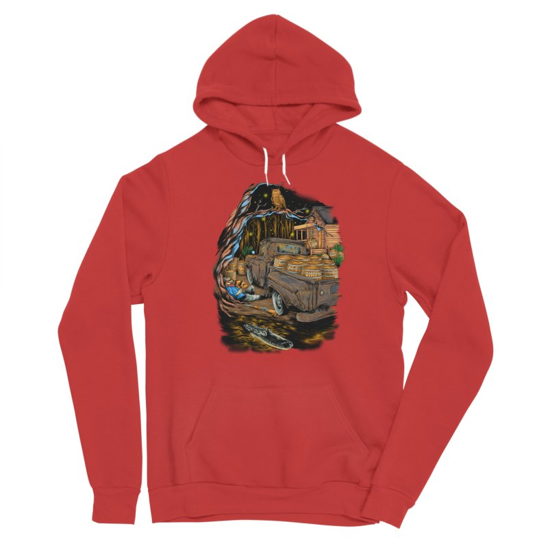 night after night Men's Pullover Hoody by hd's Artist Shop