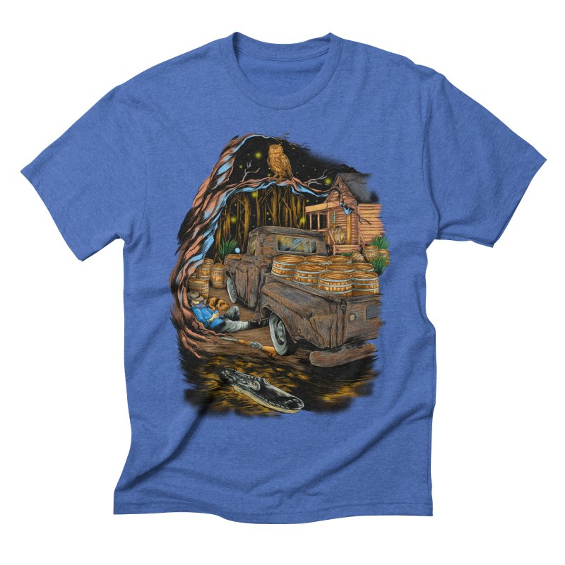 night after night Men's T-Shirt by hd's Artist Shop