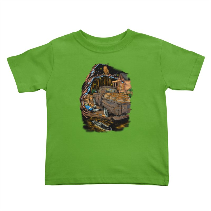 night after night Kids Toddler T-Shirt by hd's Artist Shop