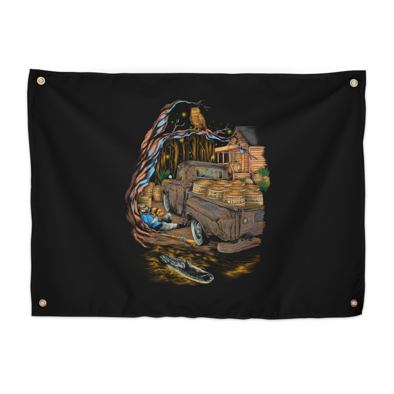 night after night Home Tapestry by hd's Artist Shop