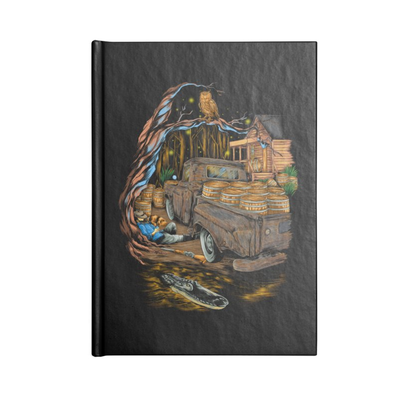 night after night Accessories Notebook by hd's Artist Shop