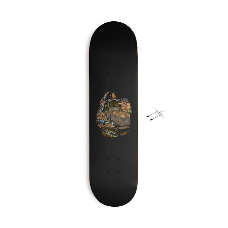 night after night Accessories Skateboard by hd's Artist Shop