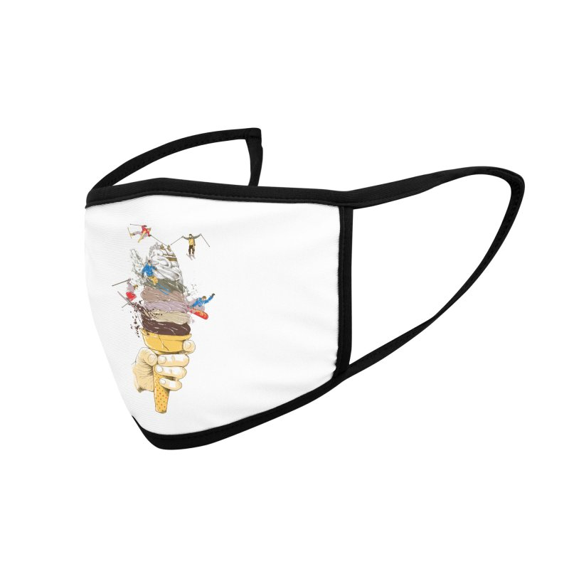 ice cream skate Accessories Face Mask by hd's Artist Shop