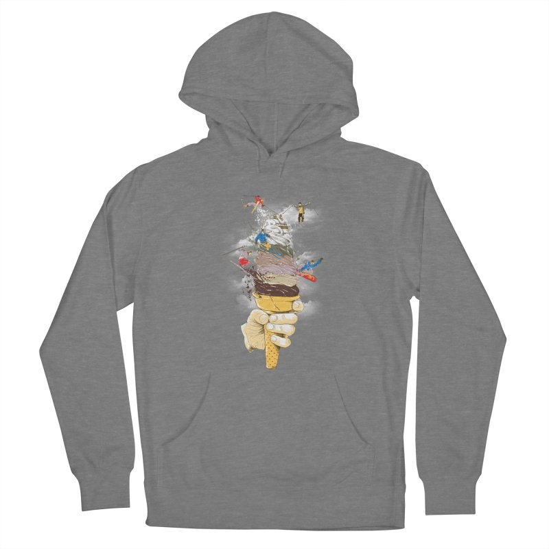 ice cream skate Women's Pullover Hoody by hd's Artist Shop