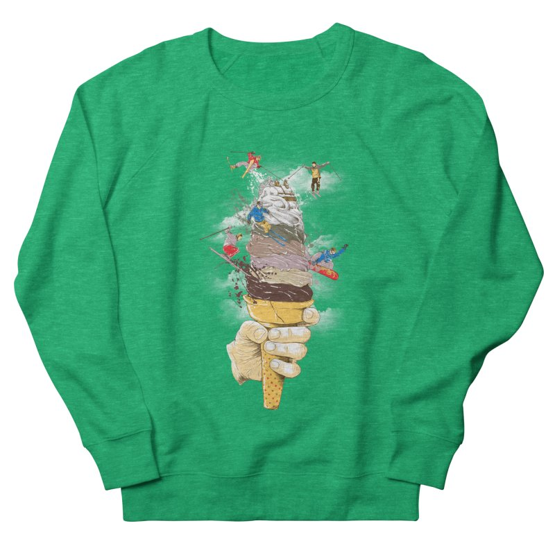 ice cream skate Women's Sweatshirt by hd's Artist Shop