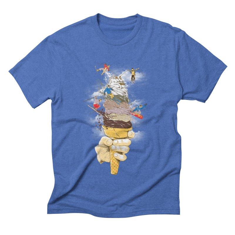 ice cream skate Men's T-Shirt by hd's Artist Shop