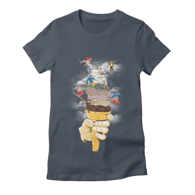 ice cream skate Women's T-Shirt by hd's Artist Shop