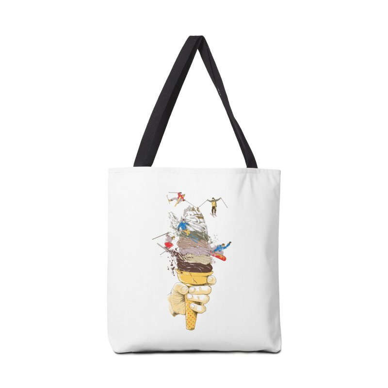 ice cream skate Accessories Bag by hd's Artist Shop