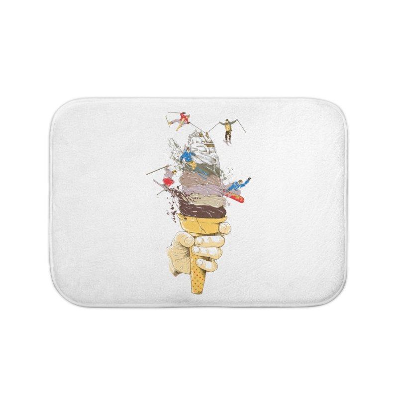 ice cream skate Home Bath Mat by hd's Artist Shop