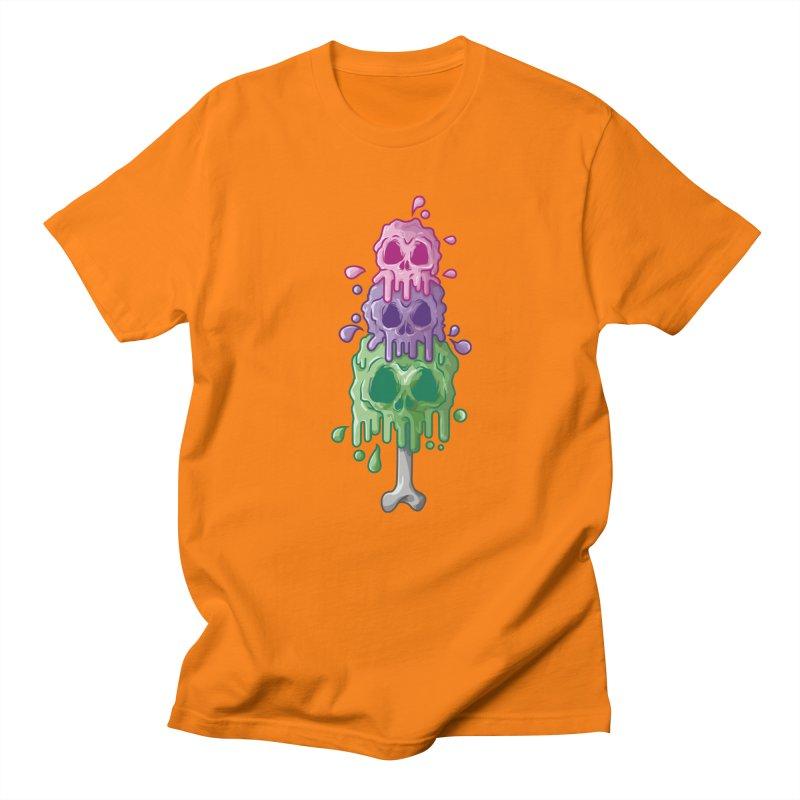 Ice Skull Men's T-Shirt by hd's Artist Shop