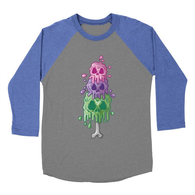Ice Skull Women's Longsleeve T-Shirt by hd's Artist Shop