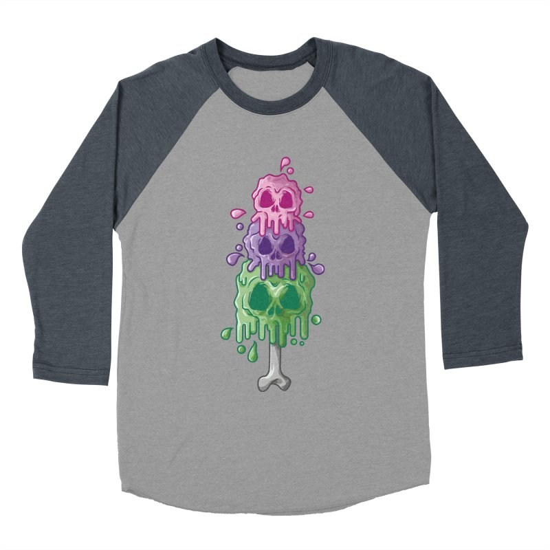 Ice Skull Men's Longsleeve T-Shirt by hd's Artist Shop