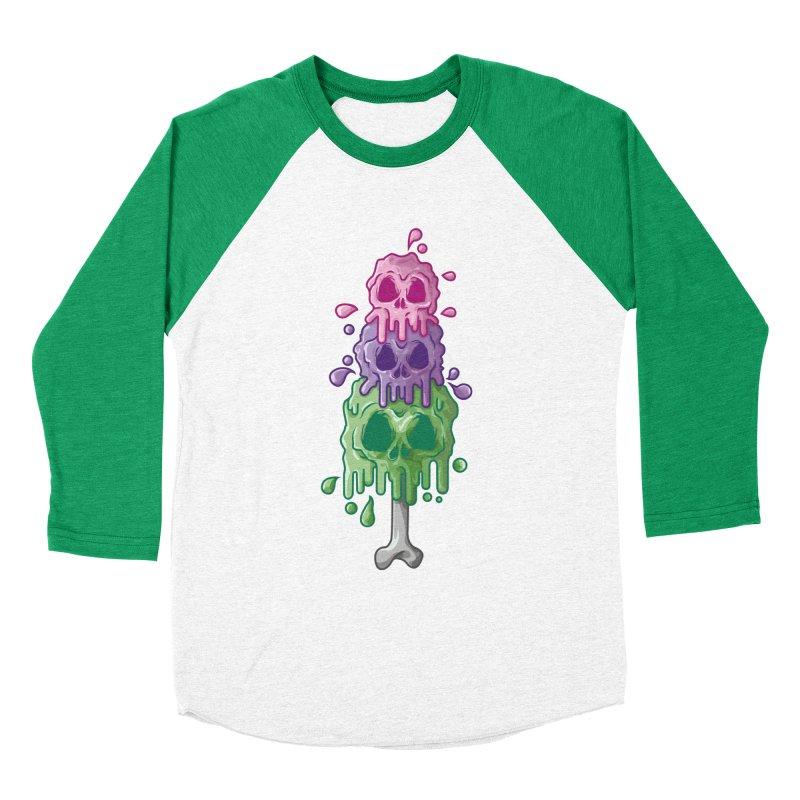 Ice Skull Men's Longsleeve T-Shirt by hd's Artist Shop