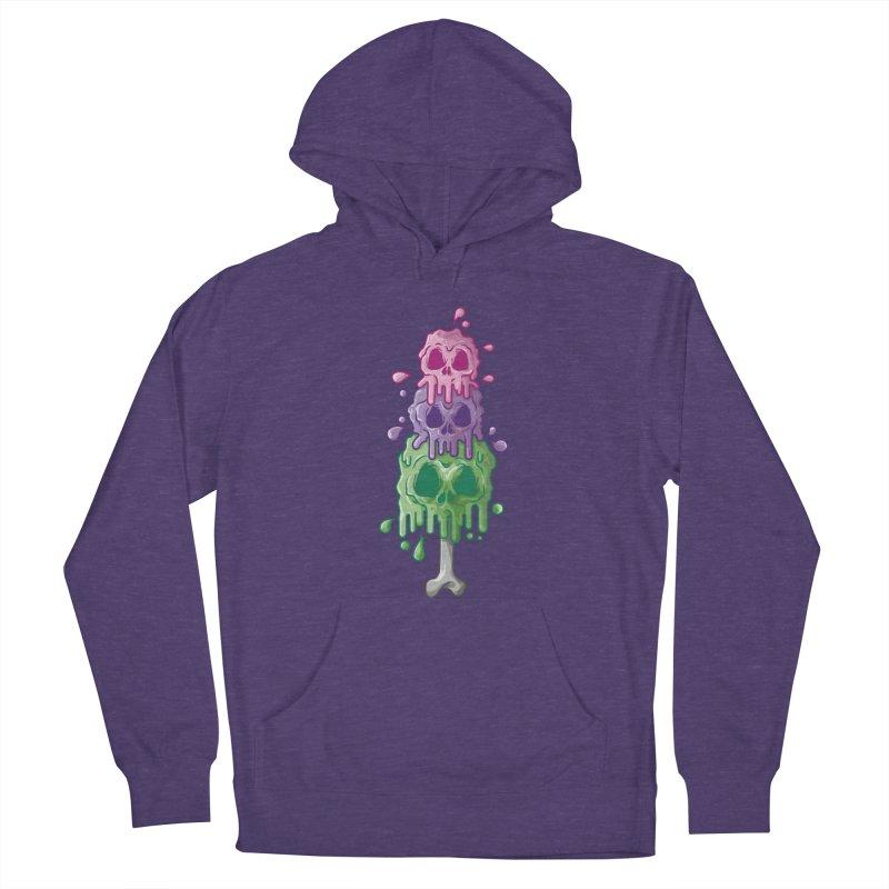 Ice Skull Women's Pullover Hoody by hd's Artist Shop
