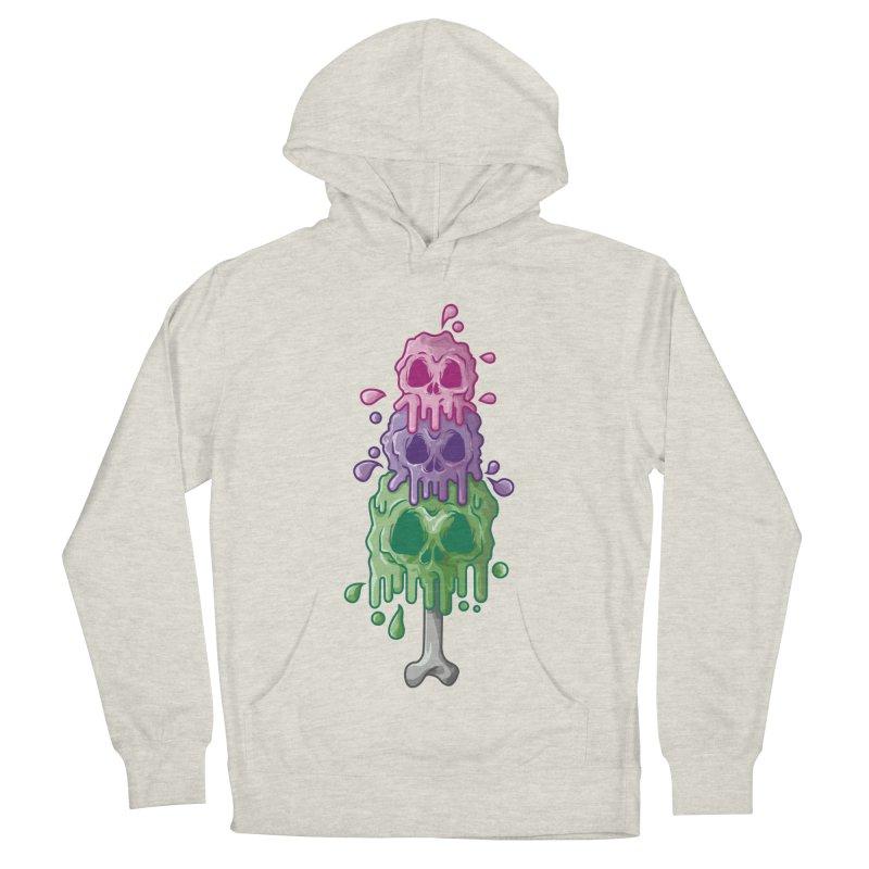 Ice Skull Men's Pullover Hoody by hd's Artist Shop