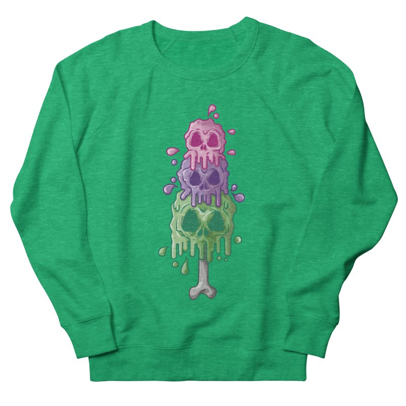 Ice Skull Women's Sweatshirt by hd's Artist Shop