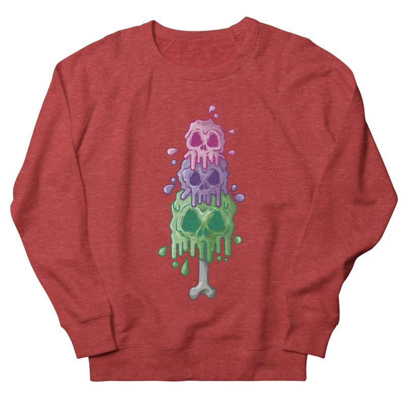 Ice Skull Women's Sweatshirt by hd's Artist Shop