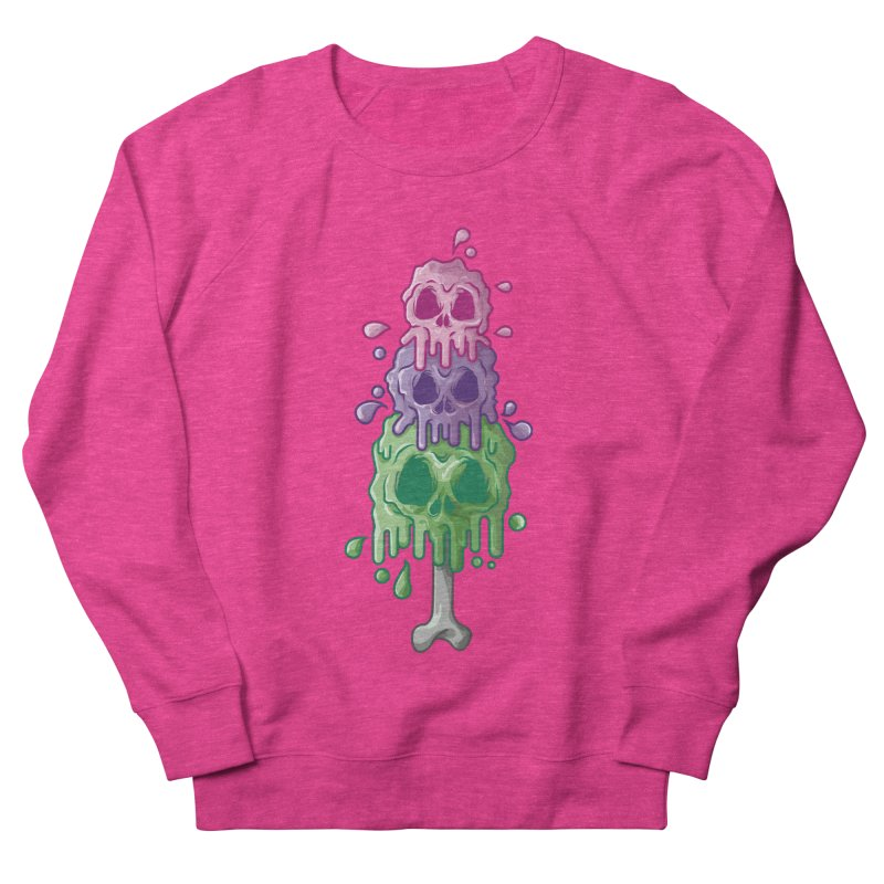 Ice Skull Men's Sweatshirt by hd's Artist Shop