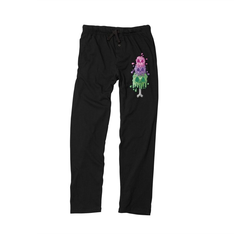 Ice Skull Men's Lounge Pants by hd's Artist Shop