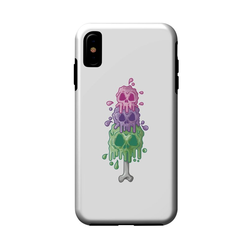 Ice Skull Accessories Phone Case by hd's Artist Shop