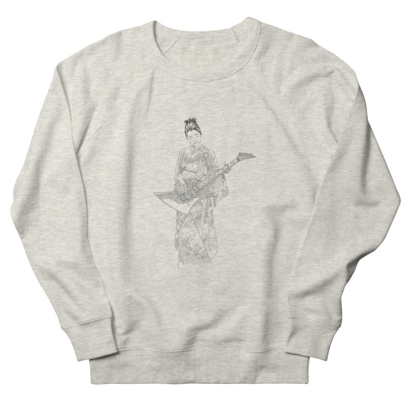 japanese rockstar Women's Sweatshirt by hd's Artist Shop