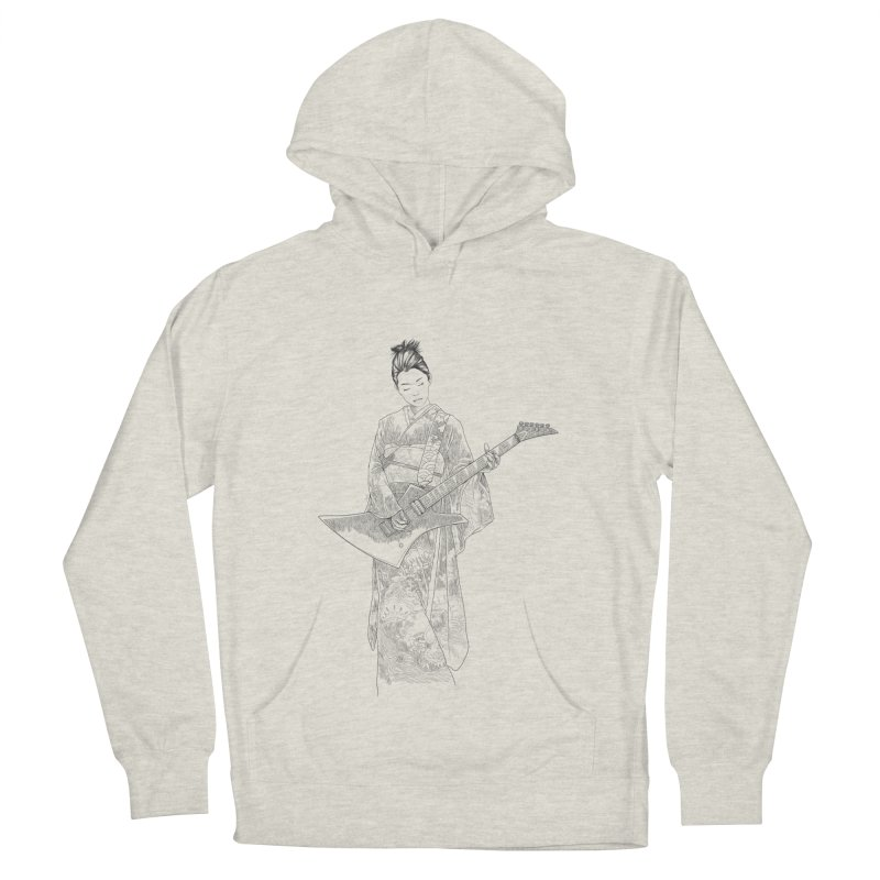 japanese rockstar Women's French Terry Pullover Hoody by hd's Artist Shop