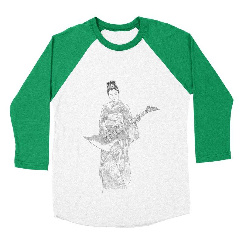 japanese rockstar Men's Baseball Triblend Longsleeve T-Shirt by hd's Artist Shop
