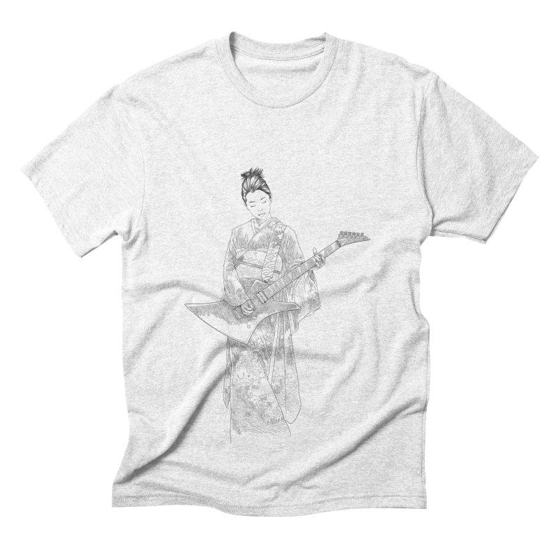 japanese rockstar Men's Triblend T-shirt by hd's Artist Shop